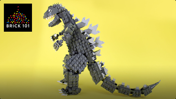 How to Build LEGO Godzilla