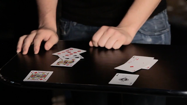 How to Do the 4 Ace Card Trick