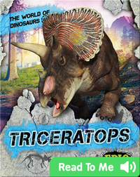The World of Dinosaurs: Triceratops