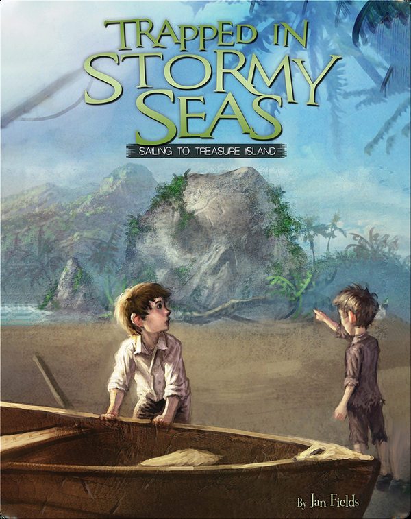 Trapped in Stormy Seas: Sailing to Treasure Island