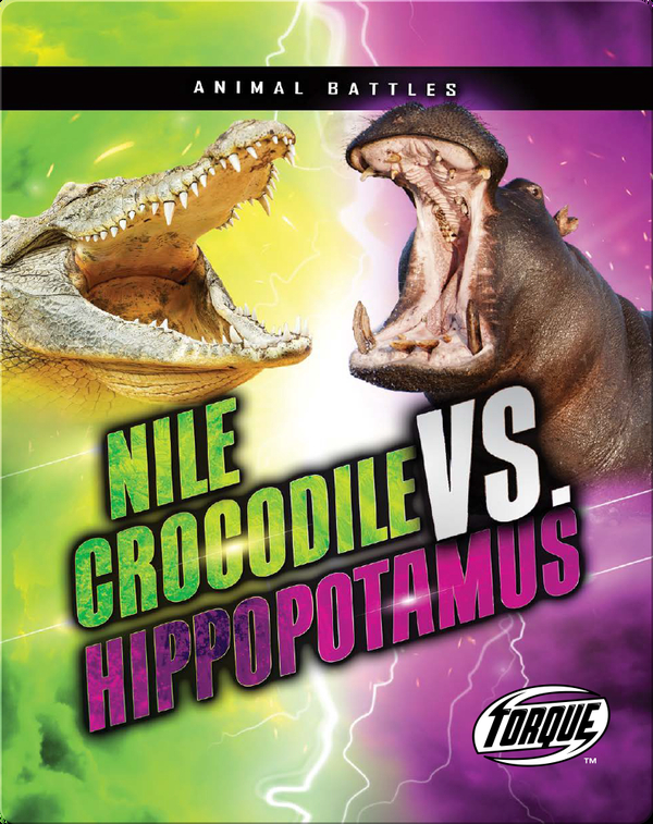 Animal Battles: Nile Crocodile vs. Hippopotamus