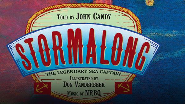 American Heroes & Legends: Stormalong The Legendary Sea Captain