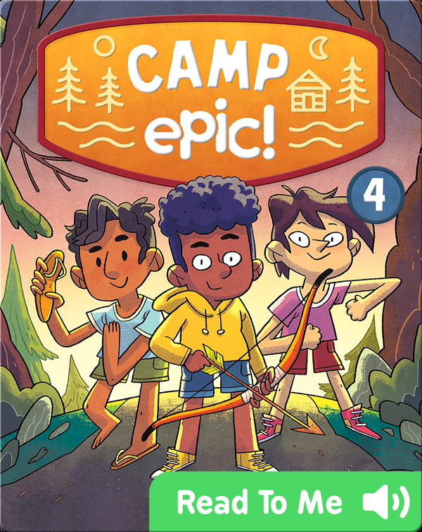 Camp Epic Book 4: Cooking Camp
