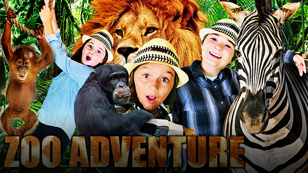 Visit the Animals at the Zoo with The Wild Adventure Girls!