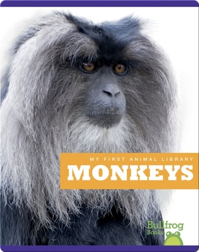 My First Animal Library: Monkeys