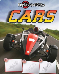 Explore And Draw: Cars