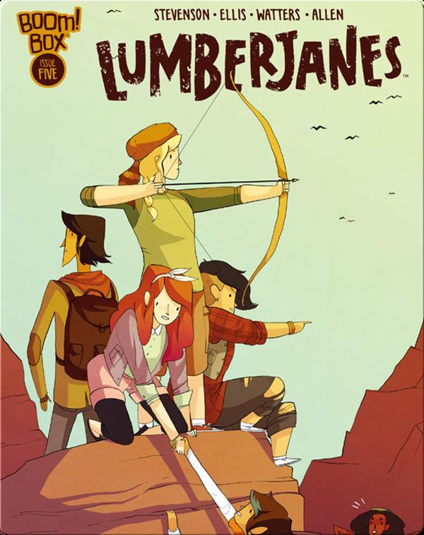 Lumberjanes Vol. 2, Issues 5-8