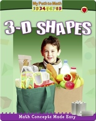 Math Concepts Made Easy: 3-D Shapes