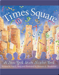 Times Square: A New York State Number Book