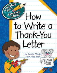 How to Write a Thank-You Letter