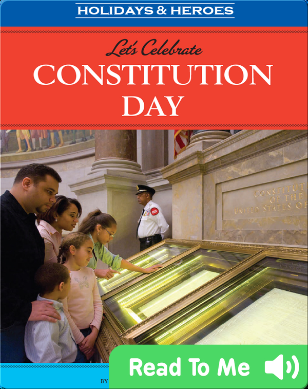 Let's Celebrate Constitution Day