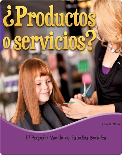 ¿Productos o servicios?