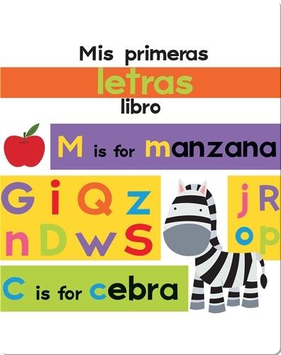 Mis primeras letras libro