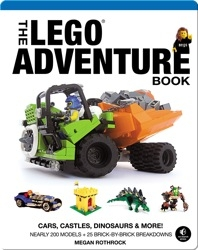 The LEGO Adventure Book, Vol. 1: Cars, Castles, Dinosaurs & More!