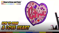 How to Draw a Love Heart