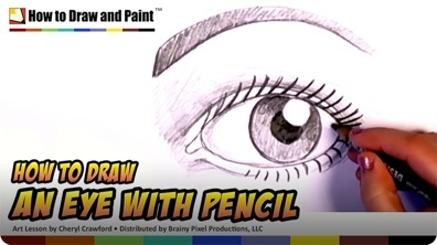 How to Draw an Eye with Pencil
