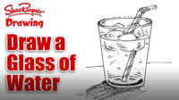 Draw a Glass of Water