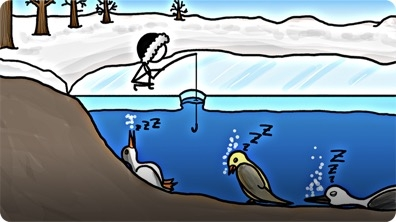 Birds that Hibernate in Lakes?!