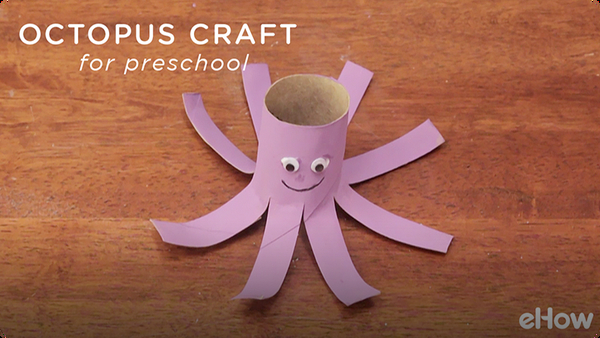 A Simple Octopus Craft for Preschool