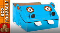 Craft Ideas with Boxes - Hippo Boat