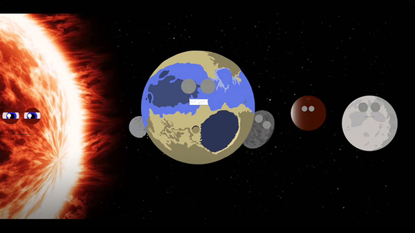 Planet Song for Kids / Dwarf Planets Song