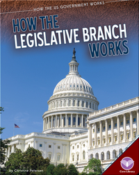 How The Legislative Branch Works