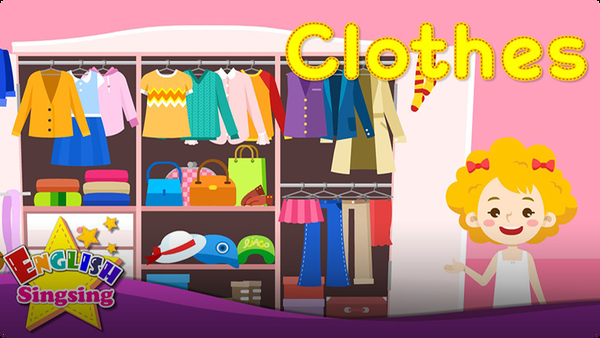 Kids Vocabulary: Clothes - Clothing
