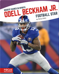 Odell Beckham Jr. Football Star