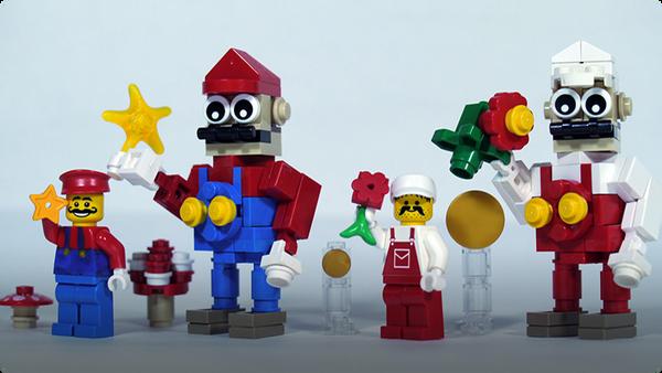 How To Build LEGO Super Mario & Fire Mario