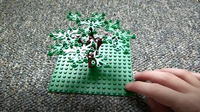 How to Build: Lego Oak Tree