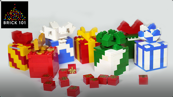 How To Build LEGO Gift Box