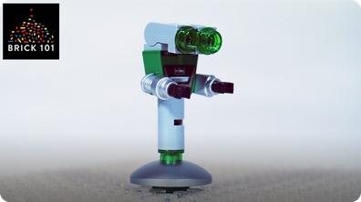 How To Build LEGO Reversible Robot