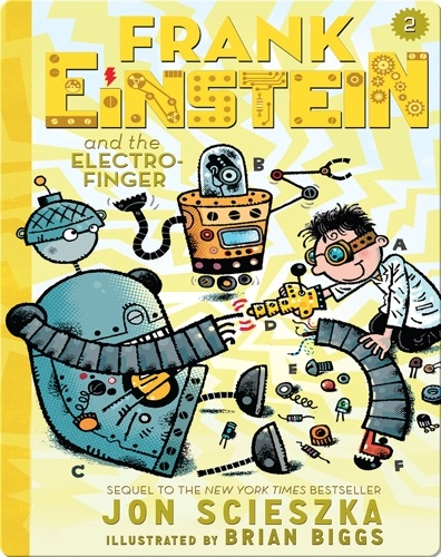 Frank Einstein and the Electro-Finger (Frank Einstein series #2)