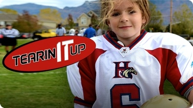 Amazing 13-Year-Old Girl Football Player Sam Gordon | TEARIN' IT UP