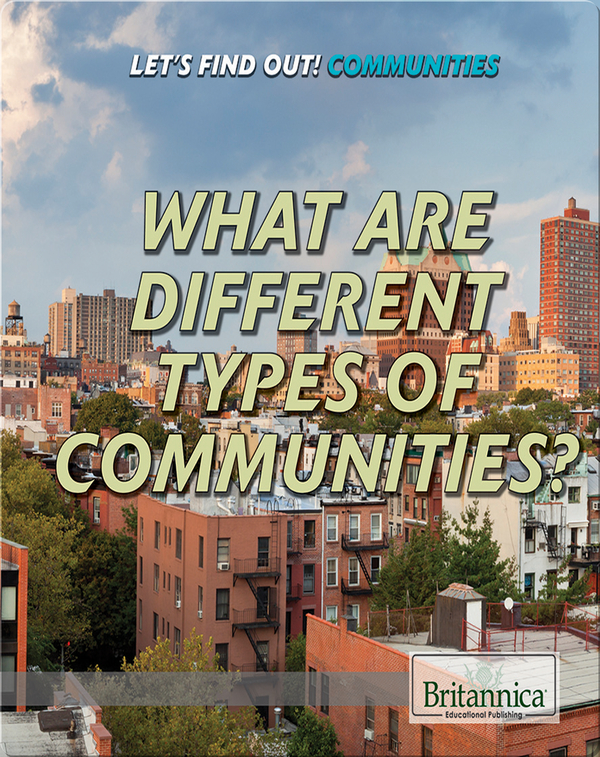 What Are Different Types of Communities?