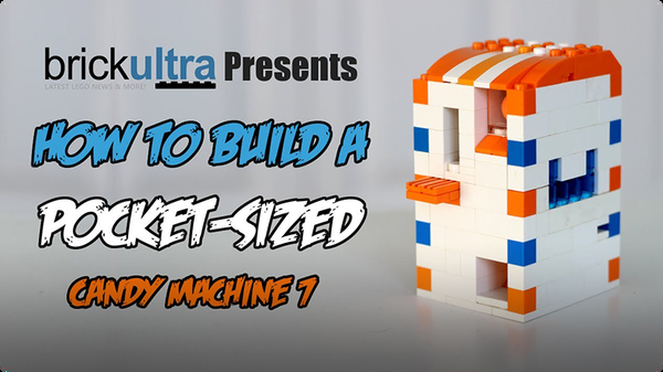 How to Build a MiNi Lego Candy Machine 7