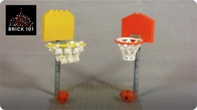 How To Build a LEGO Basketball Hoop