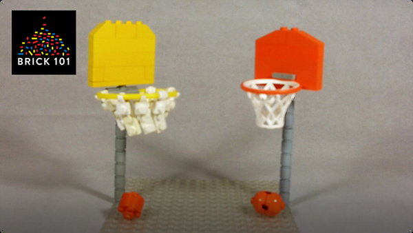 How To Build a LEGO Basketball Hoop