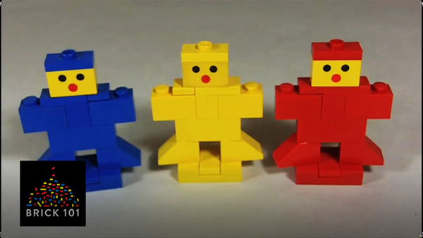 How To Build LEGO Gingerbread Men