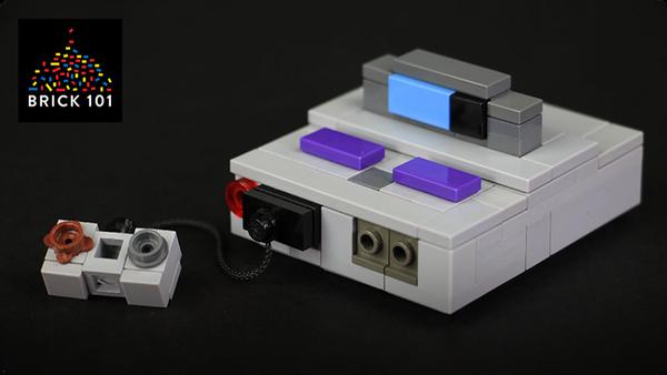 How To Build LEGO Super Nintendo