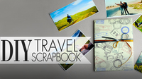DIY Travel Scrapbook