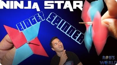 How to Make the Best Ninja Star Spinner!