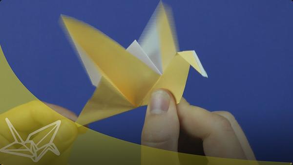 Origami Flapping Bird