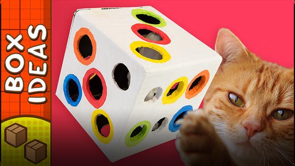 Cat Toy Dice
