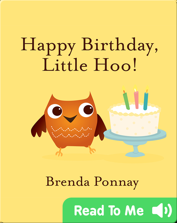 Happy Birthday, Little Hoo!