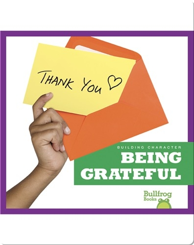Building Character: Being Grateful