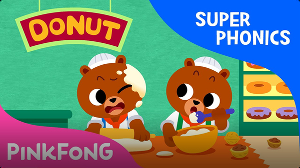 Super Phonics - Coconut Donut (ut)