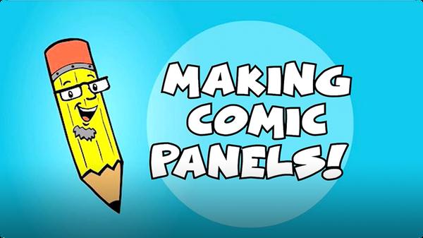 Kids Make Comics #7: Making Comic Panels!