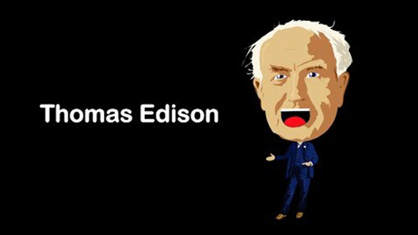 Thomas Edison Song for Kids