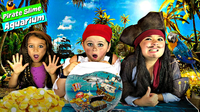 How to Make a Pirate Slime Aquarium!